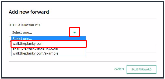 How to: Forward your domain name to another website – Hover
